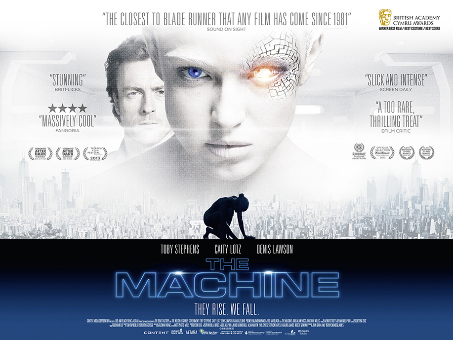 The Machine Film Movie Poster Design 2013 science fiction