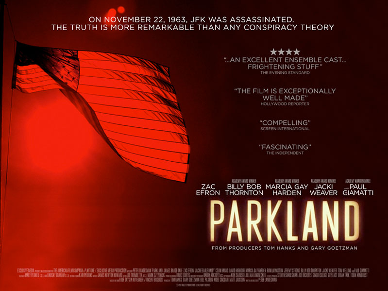 Parkland Film Movie Poster Design 2013 Drama History