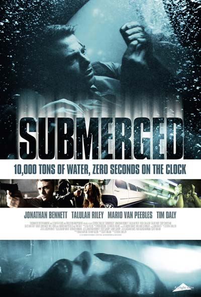 Creative poster design for pinterest - Submerged Film Movie Poster Design 2015 Drame Thriller