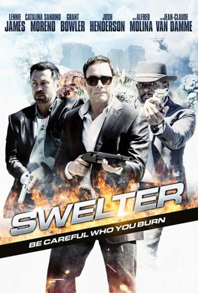 Swelter Film Movie Poster Design 2014 action crime
