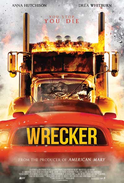 Wrecker Film Movie Poster design 2015 horror