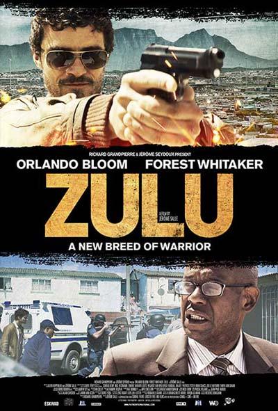 Zulu Film Movie Poster design 2014 crime thriller action