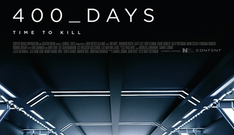 400 Days Film Movie Poster design 2015 science fiction
