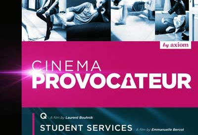 Cinema Provocateur DVD cover Design