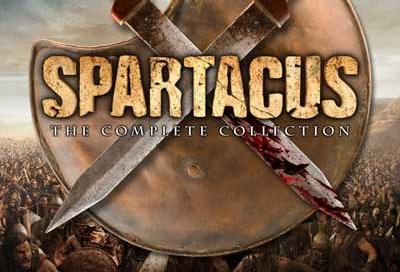 Spartacus DVD cover design