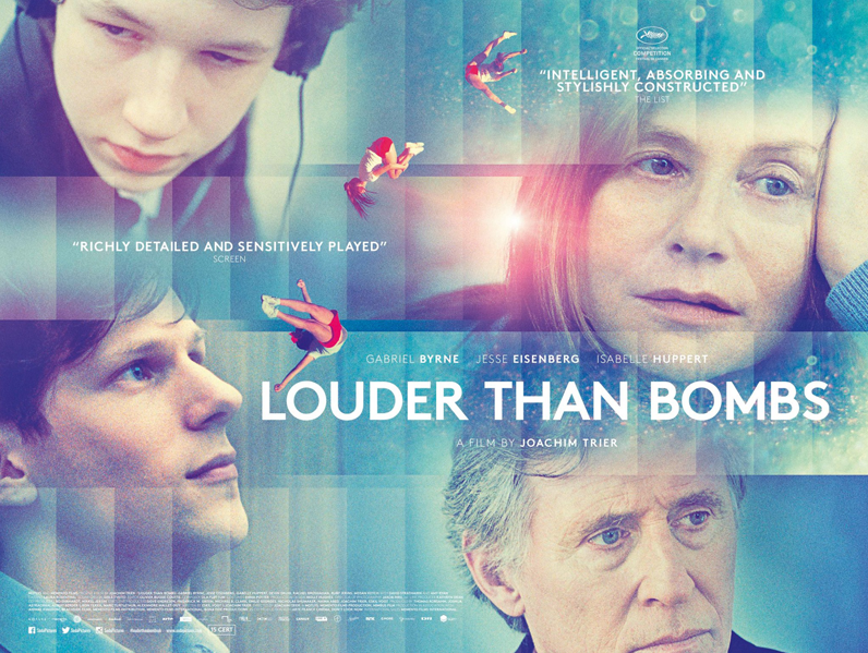 Louder than Bombs Film Poster Design