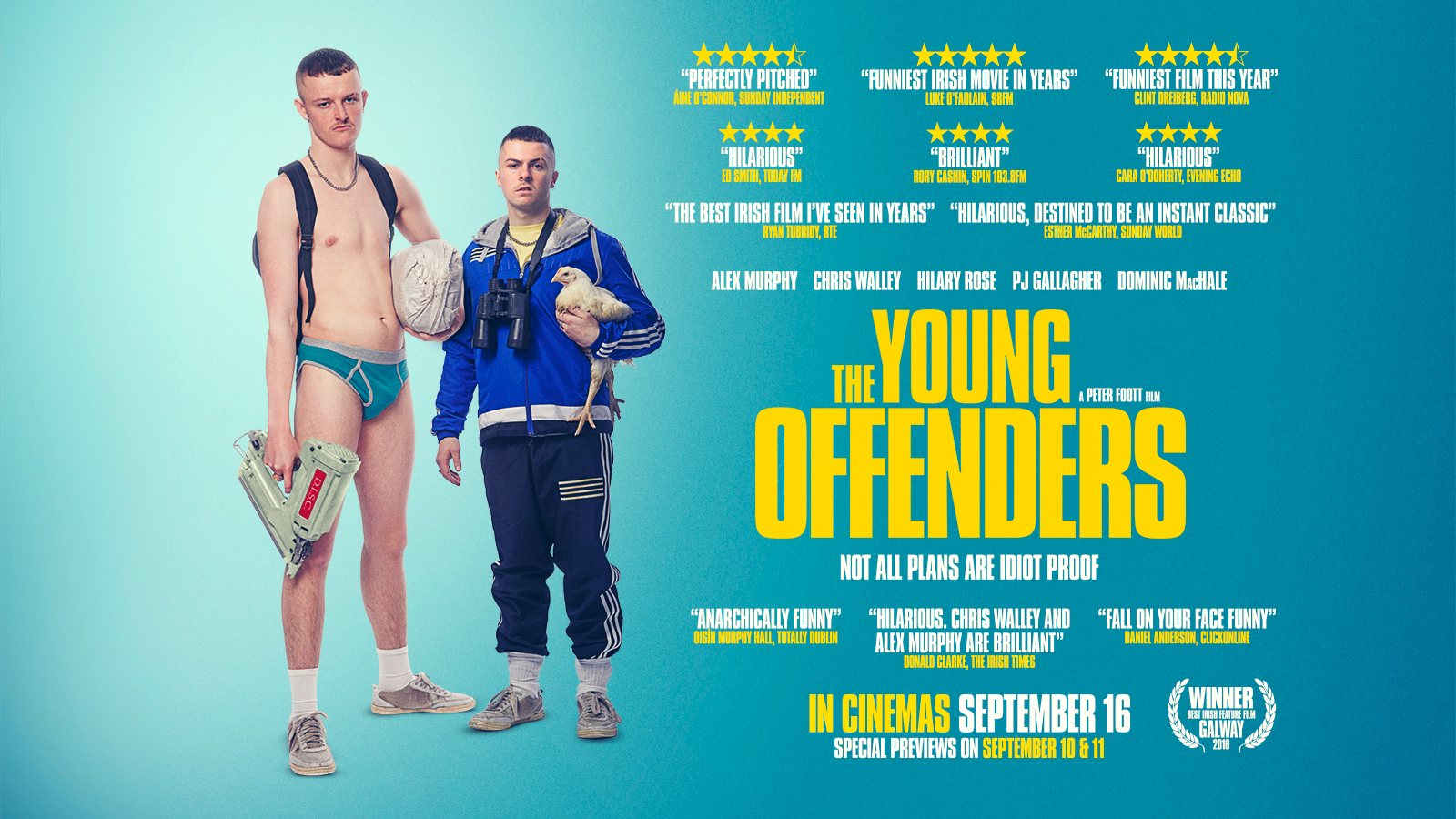 The Young Offender movie poster design