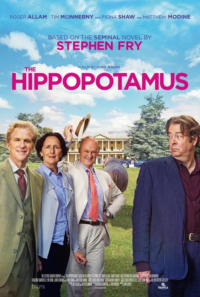 The Hippopotamus poster design