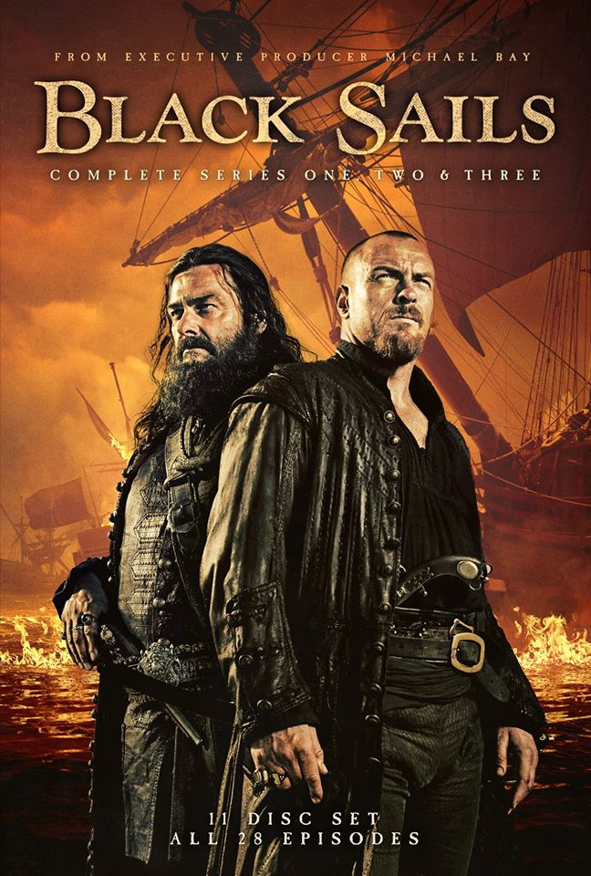 black sails season 1 to 3 poster