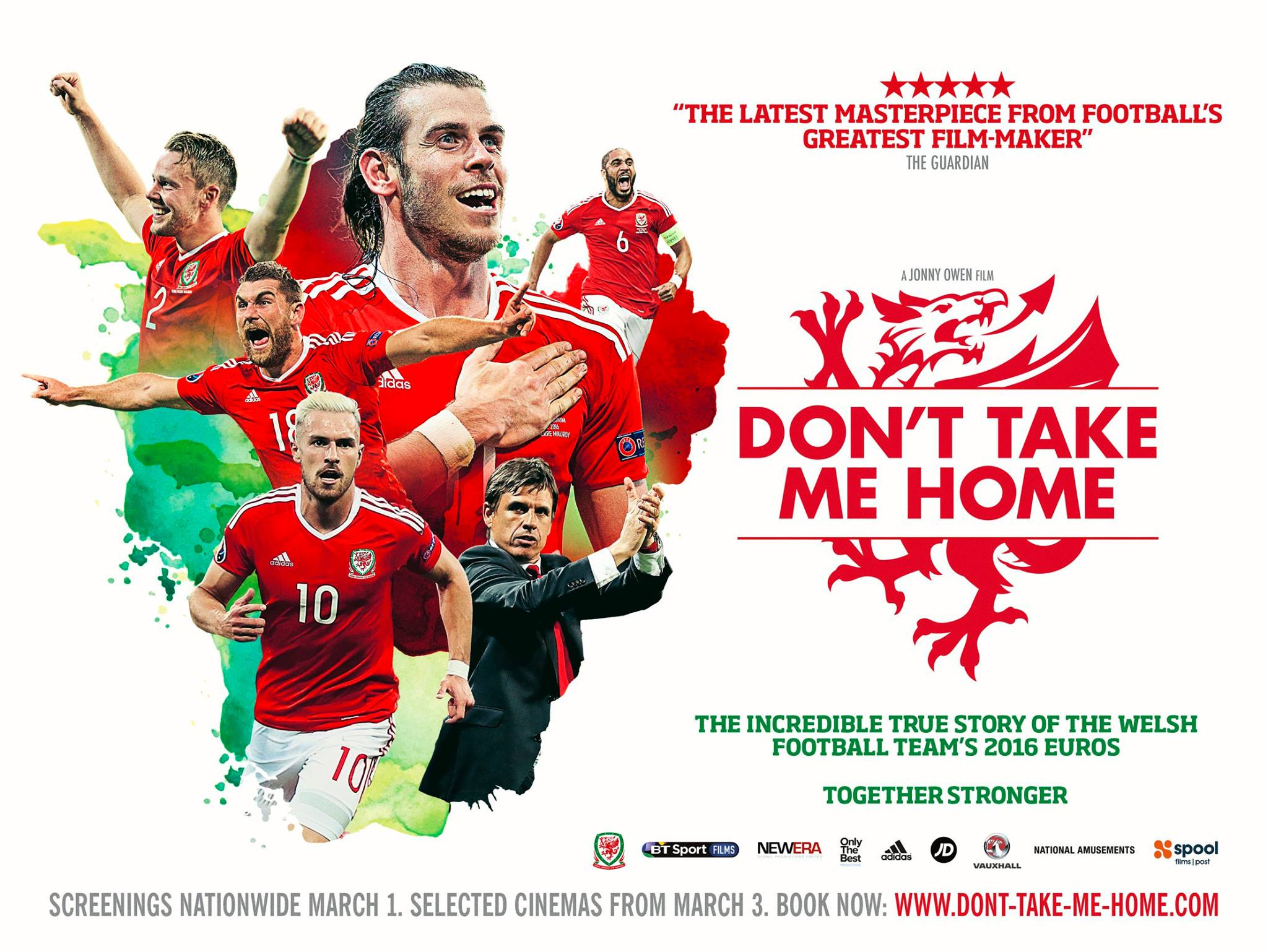 Don't take me home poster design by C&C sport documentary 2016