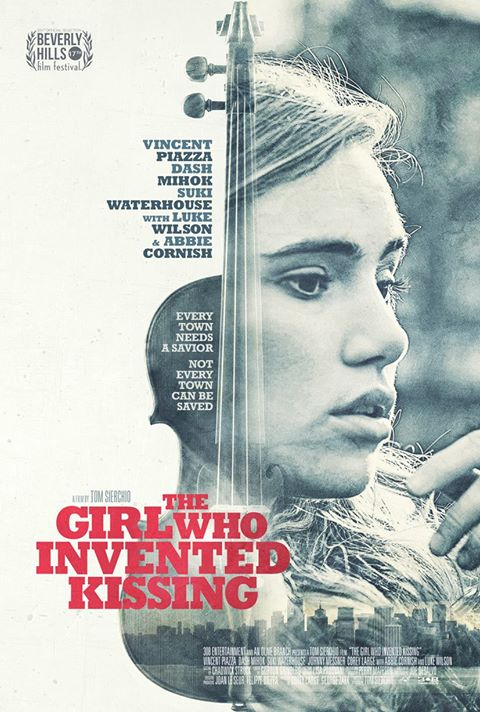 The Girl who invented kissing Festival Poster Design Coffee and Cigarettes Drama 2017