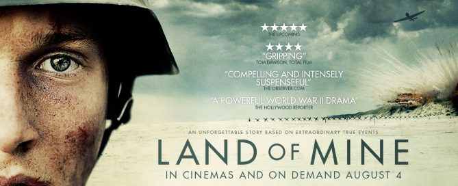 Land Of mine poster, Drama film poster , 2017 Drama film , nominated at screen awards 2017