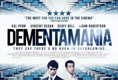 Dementamania, film poster design, movie poster design , coffee and cigarettes,