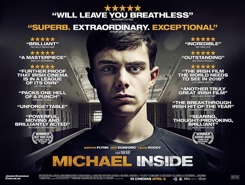 Michael Inside, Irish drama poster design, film poster design, coffee and cigarettes, creative agency