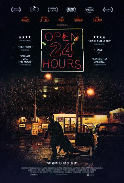 open 24 hours, vanessa grave, film poster design, movie poster design, horror poster, horror movie poster deisgn, horror film poster design