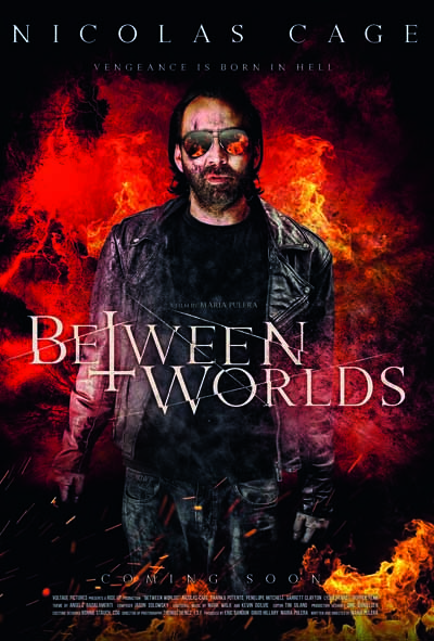 Between Worlds, starring Nicolas Cage, movie poster, film poster, movie poster design, movie poster design