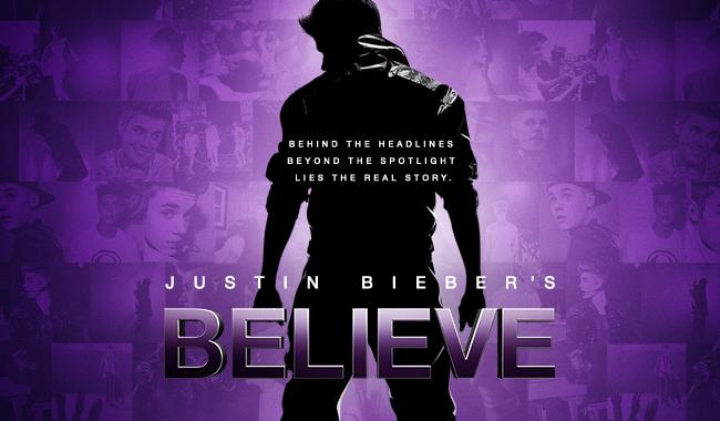 Justin Bieber's Believe Film Movie Poster Design 2013 Documentary Music