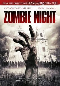 Zombie Night Film Movie Poster Design 2013 Horror