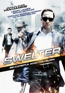 The Swelter Film Movie poster design 2014 Action Crime