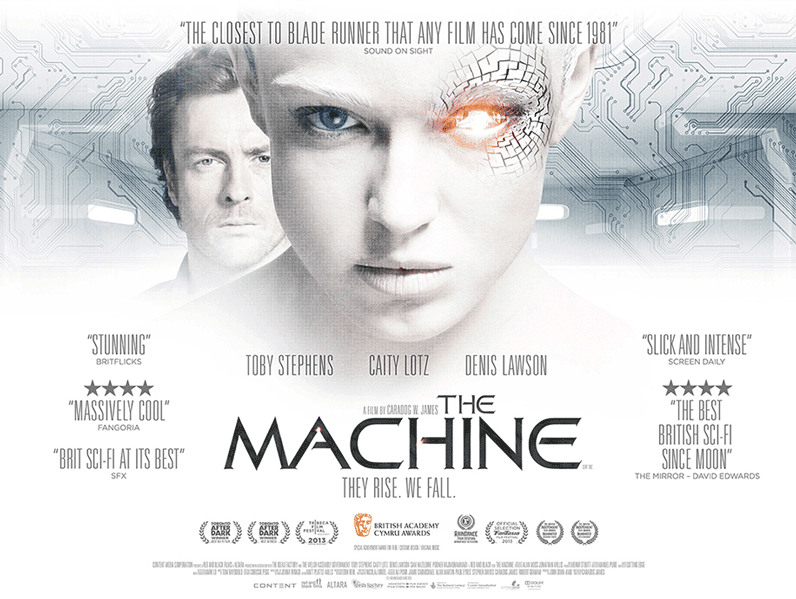 The Machine Film Movie Poster Design 2014 Science Fiction Thriller