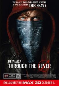 Metallica Through the Never Film Movie Poster Design 2013 music