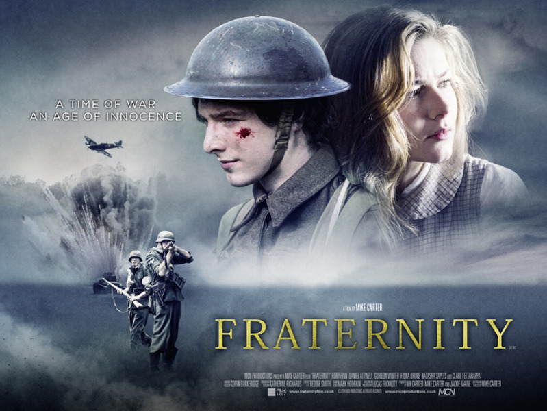 Fraternity Film Movie Poster Design 2015 Drama war