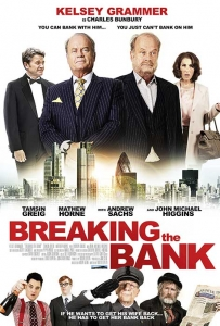 Breaking the Bank Film Movie Poster design 2015 action