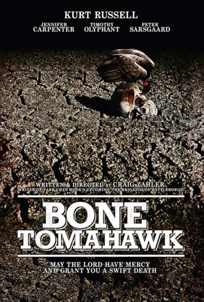 Bone Tomahawk Flm Movie Poster Design 2015 horror