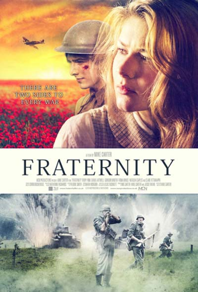 Fraternity Brothers of War Film Movie Poster Design 2015 war drama