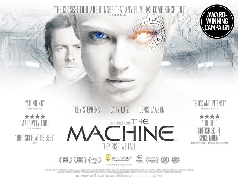 the machine film poster design