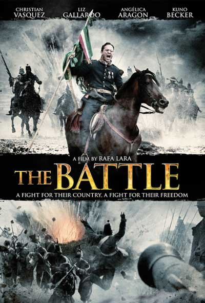 Cinco de Mayo La Batalla The Battle Film Movie Poster Design 2013 history war