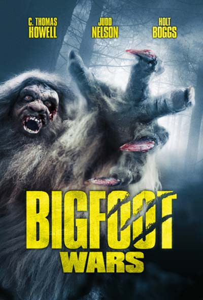 Bigfoot Wars Film Movie Poster Design 2014 Science fiction