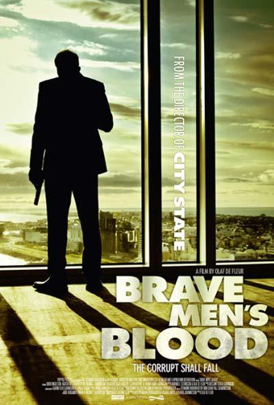 Brave Mens Blood Film Movie Poster Design 2014 action crime