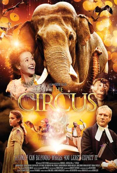 The Circus / Y Syrcas Film Movie Poster Design 2013 Drama