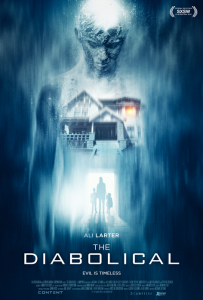 The Diabolical Film Movie Poster design 2015 science fiction horror