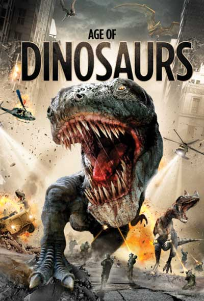 Age of Dinosaurs Film Movie Poster Design 2013 Science Fiction Action