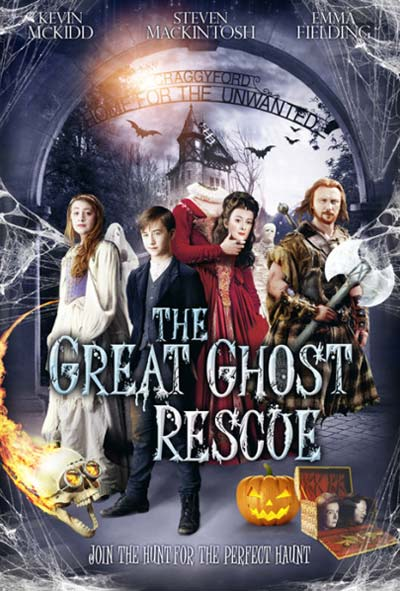 The Great Ghost Rescue Film Movie Poster Design 2014 Family Fantasy