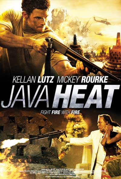 Java Heat Film Movie Poster Design 2013 Action Crime