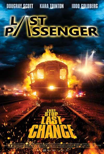 Last Passenger Film Movie Poster Design 2013 Action Mystery