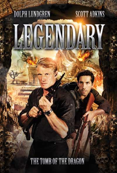 Legendary Tomb of the Dragon Film Movie Poster Design 2013 Action Adventure