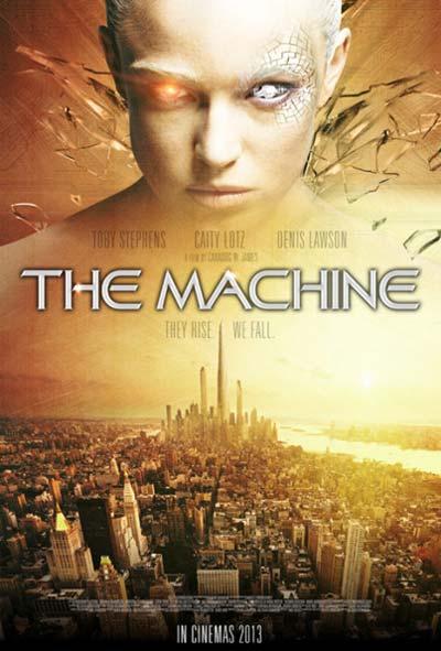 The Machine Film Movie Poster Design 2014 Science Fiction Thriller
