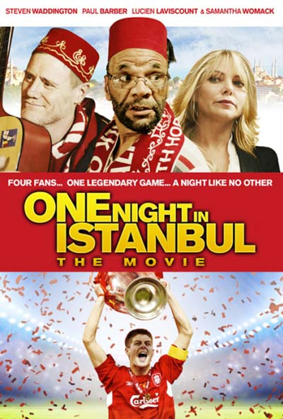 One Night in Istanbul Film Movie Poster Design 2014 Comedy