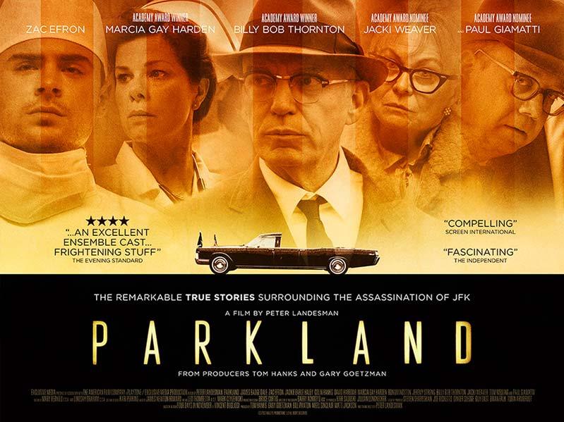 Parkland Film Movie Poster Design 2013 Drama History