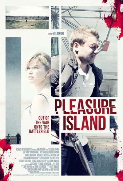 Pleasaur Island Film Movie Poster Design 2015 Thriller Crime