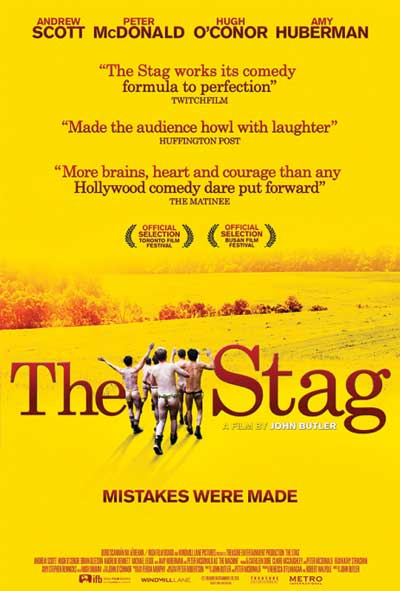 The Stag Film Movie Poster Design 2014 Comedy