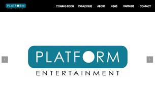 Platform Entertainment website