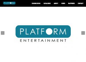 Platform Entertainment website
