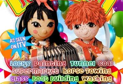 Rosie & Jim dvd cover design
