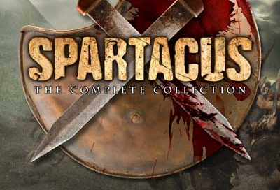 spartacus DVD cover design