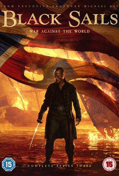 Black Sails DVD cover design